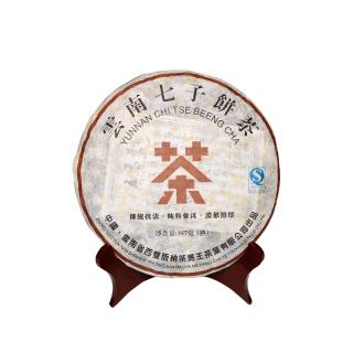 【买五送一】贡马茶品 2016年七子饼 熟茶 版纳原产地仓储 357克/饼