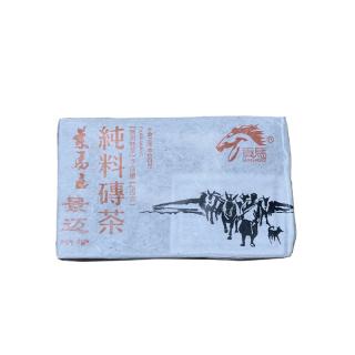 【买五送一】贡马茶品 2012年景迈纯料熟茶砖 版纳原产地仓储 250克/砖 熟茶
