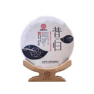 勐傣茶厂 2019年昔归 古树纯料普洱茶生茶饼 357g