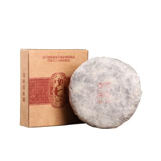 【买五送一】贡马茶品 南糯 中期茶2012年白棉纸包装 版纳原产地仓储