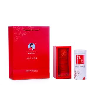 2018年南茗佳人滇红茶《桃夭》古树红茶100克/罐(买5送1)