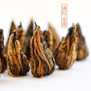 【买二送一】2019滇红宝塔 滇红茶 龙珠 100g