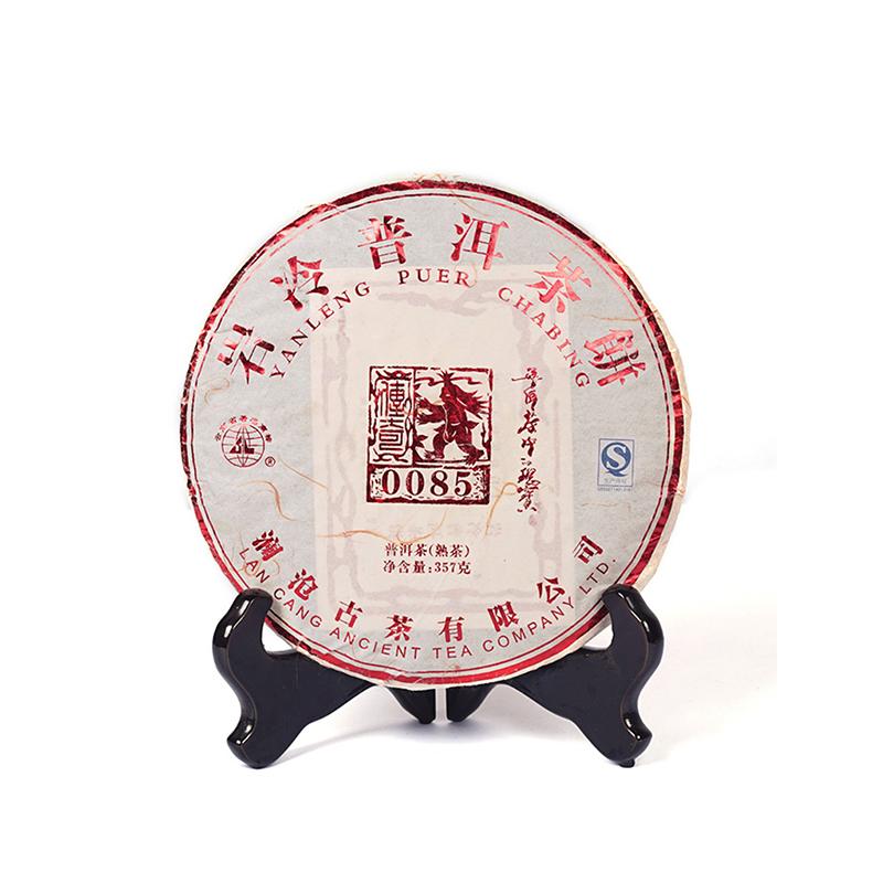 2012年澜沧古茶0085七子饼357g景迈古树熟茶