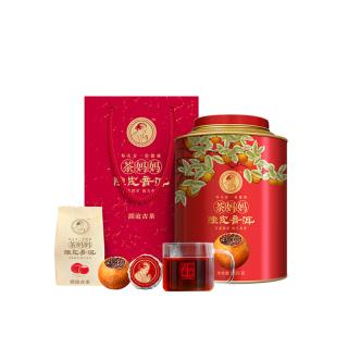 澜沧古茶 2017年 茶妈妈陈皮普洱 大红柑 普洱茶桔普新会熟茶 250克/罐