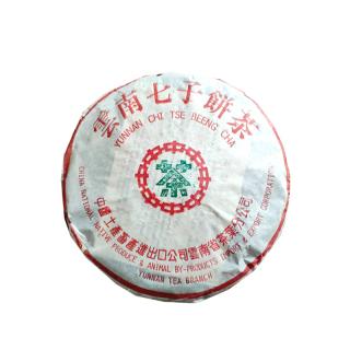 大益 2002年  7542 高端陈年老茶 357克/饼