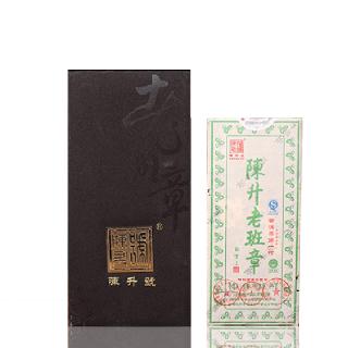 陈升号 2013年 老班章 普洱茶 生茶 1000克/砖