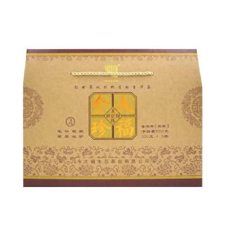 今大福2019年 大福金珍 普洱茶熟茶1公斤装(200克/袋,5袋/盒)
