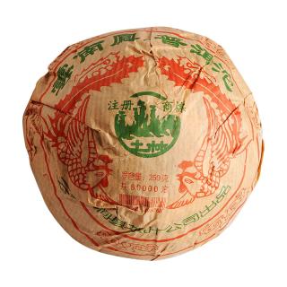 土林凤凰 2004年凤凰沱茶 普洱茶 熟茶 250克/沱