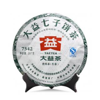 【昆明仓】大益2011年经典标杆普洱茶生茶《7542》357克/饼(103批)