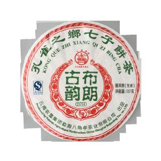 八角亭 2014年 布朗古韵 普洱茶 生茶 357克/饼