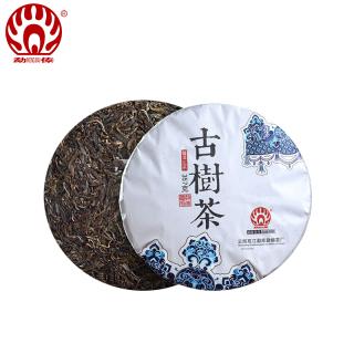 勐傣茶厂2017年古树茶普洱茶生茶饼357克/饼