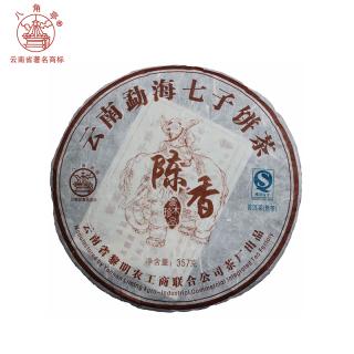 八角亭2010年陈香乔木珍品熟茶357克/饼