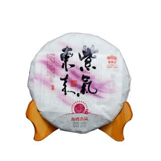老同志 2013年 紫气东来 紫芽茶饼 生茶 200g/饼