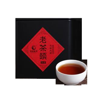 国艳2018年 老茶头 普洱茶熟茶 散茶 150克/盒