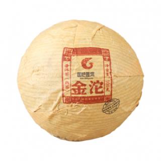 国艳  2013年 金沱 普洱茶 熟茶 100克/沱