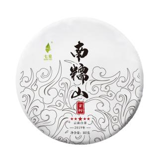 【买七送一】七见 2019年 五星 南糯山古树白茶 357g/饼